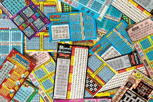 Store selling scratch off tickets