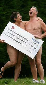 nudist lottery winners