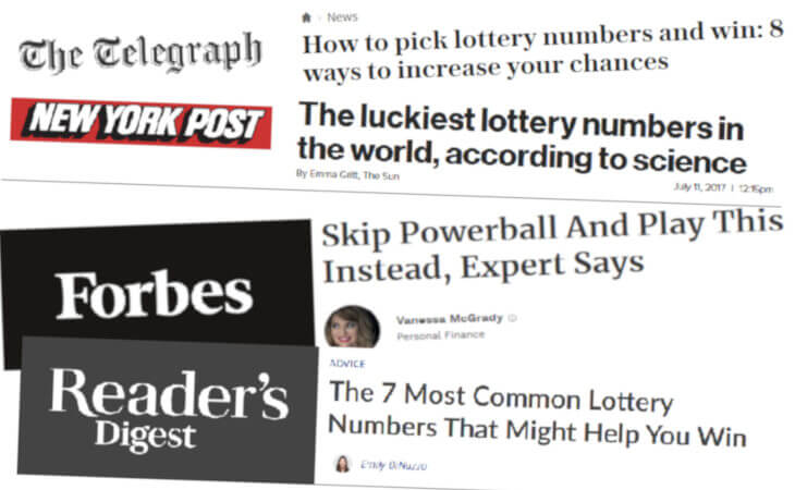Recommended lotto numbers and how to pick them