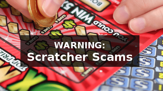 Scratcher scams